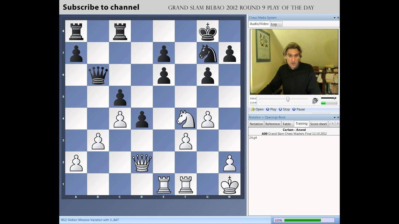Eric y Zaira en bilbao chess masters 2012