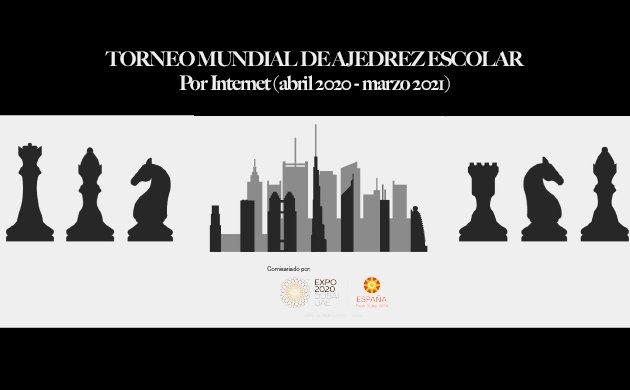 Expo Dubai 2020: Torneo mundial de ajedrez escolar por internet