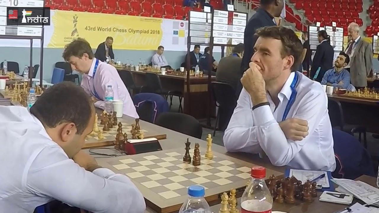 Fotos de la sexta ronda de la olimpiada de ajedrez Turquía