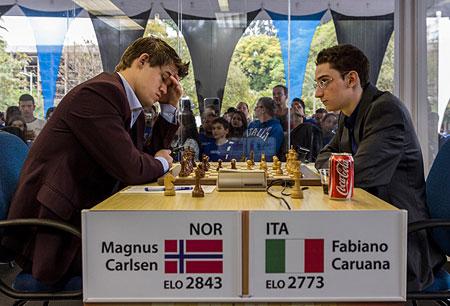 Grand Slam ajedrez Bilbao 2012 Gran victoria de Carlsen ante Caruana