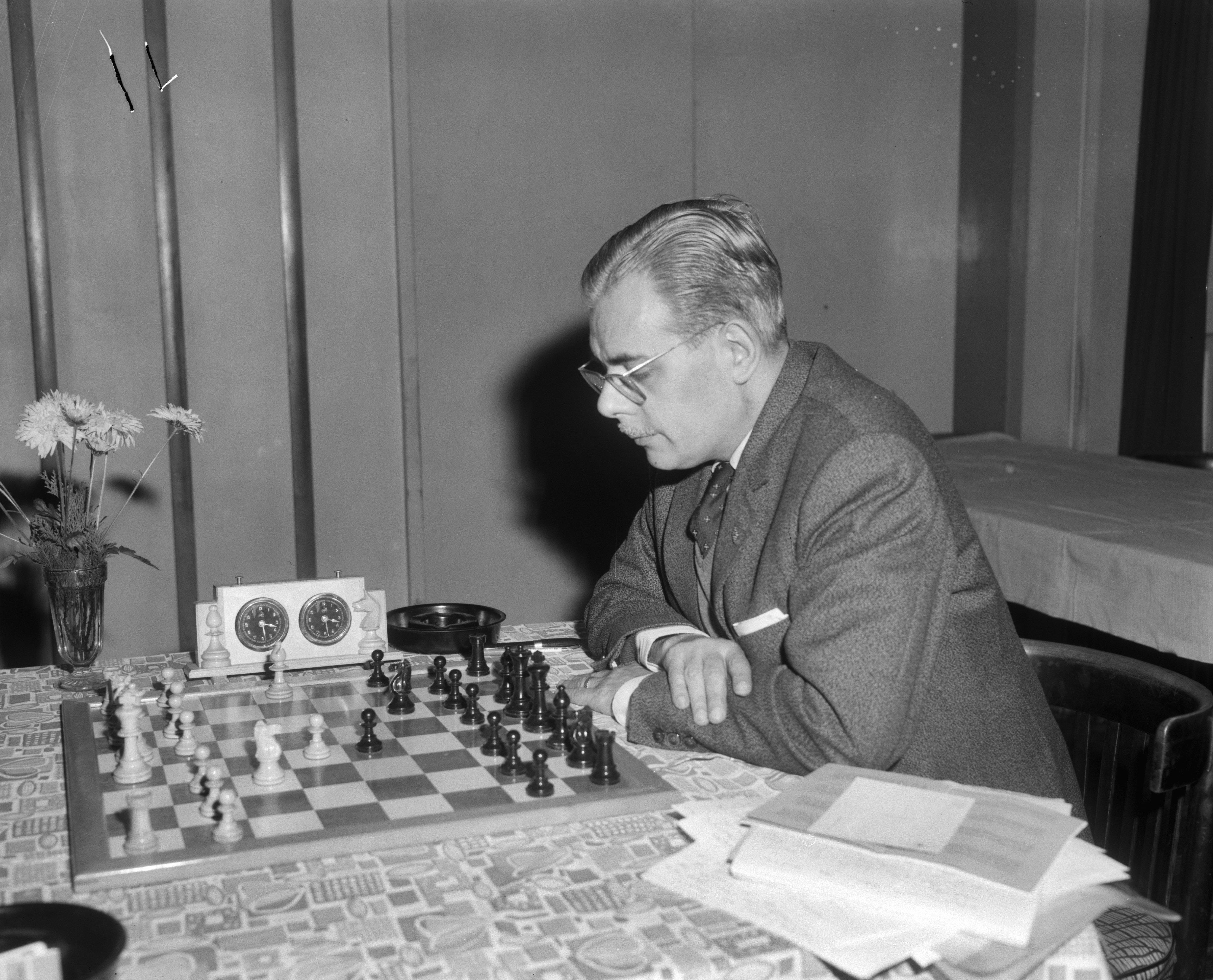 Grandes ajedrecistas Antonio Medina