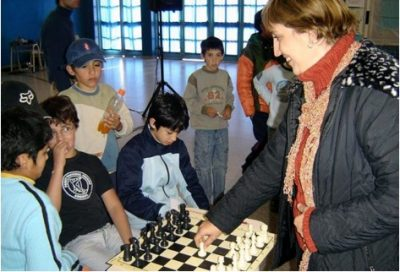 Grandes ajedrecistas Claudia Amura