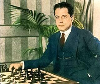 Jugadores famosos de Ajedrez Jos Ral Capablanca