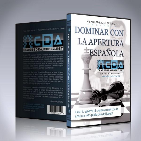 La apertura Espaola DVD de la apertura Espaola  Fermin Gonzalez