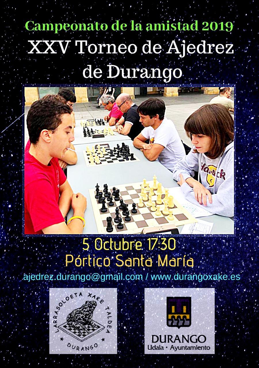 Liga vasca de Ajedrez 2013 El Sestao Naturgas virtual vencedor