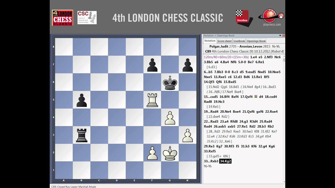 London chess classic 2012 Del 1 al 10 de Diciembre de 2012 ajedrez