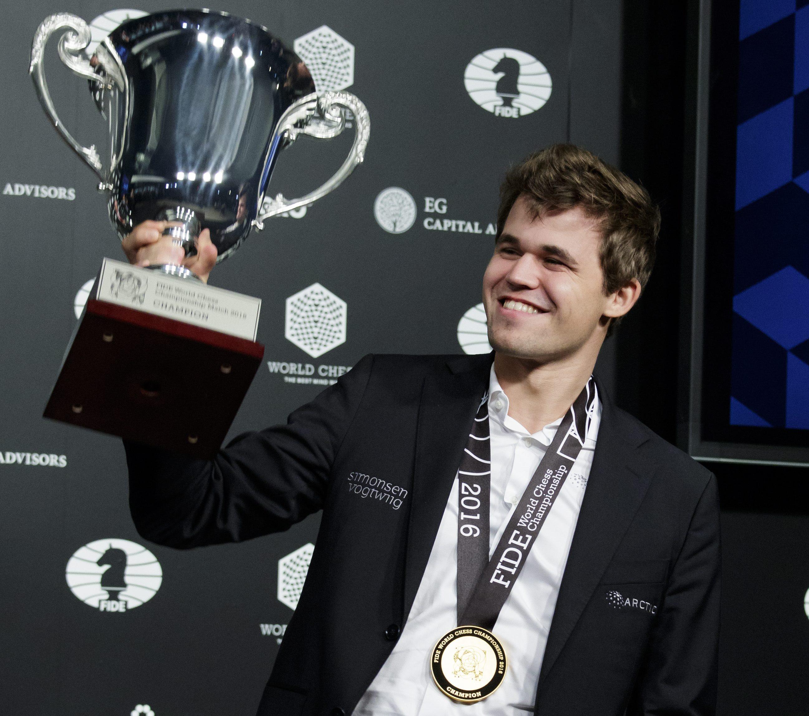 Magnus Carlsen – Campeón del mundo de Ajedrez