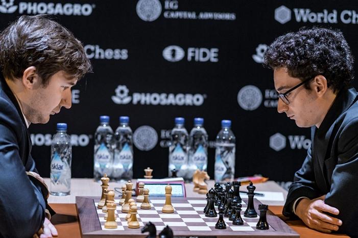Magnus Carlsen lider del Candidatos 2013 tras las partidas de la novena ronda