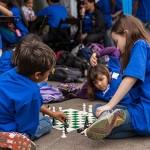 niños jugando en sao paulo chess masters 2012