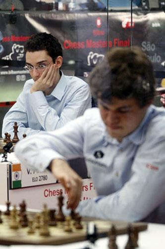 Octava ronda Bilbao ajedrez 2012 Chess masters Bilbao 2012
