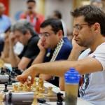 Levon Aronian y su equipo
