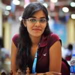 Jugadora de la Olimpiada de ajedrez 2012