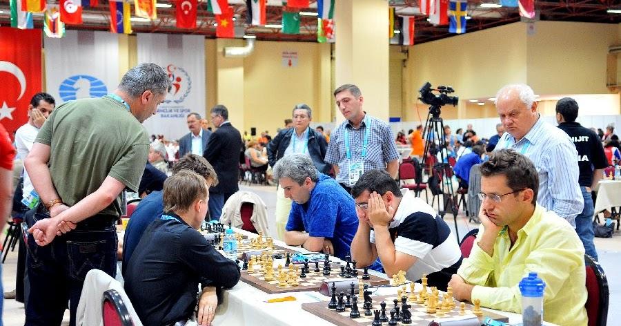 Olimpiada de ajedrez Turquía 2012 Partidas de la cuarta ronda