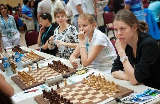 Partidas ajedrez Olimpiada 2012 Partidas de la 3 ronda de la Olimpiada de Turquía