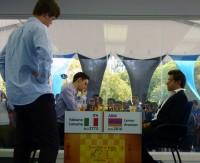 quinta ronda chess masters bilbao 2012 aronian caruana