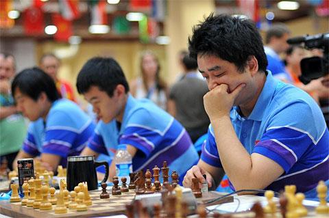 Séptima ronda de la Olimpiada de ajedrez 2012 Partidas de la séptima ronda de Turquía 2012