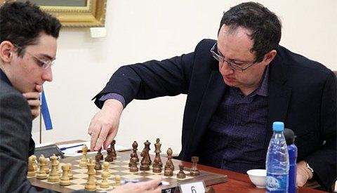 Sexta ronda del Grand Prix de ajedrez FIDE Tashkent 2012
