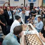 Kramnik - Aronian 6ª ronda Olimpiada ajedrez Turquía 2012