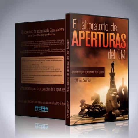 DVD de ajedrez del GM Smirnov sobre Aperturas