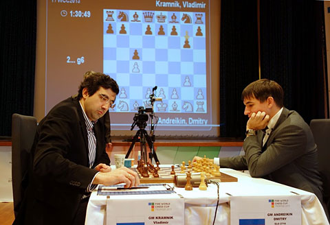 Super Torneo de Noruega Ajedrez 2013 Vladimir Kramnik no juega