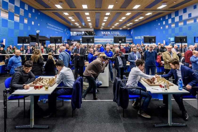Tata Steel (6): Giri y Dubov vencen, Magnus entabla de nuevo