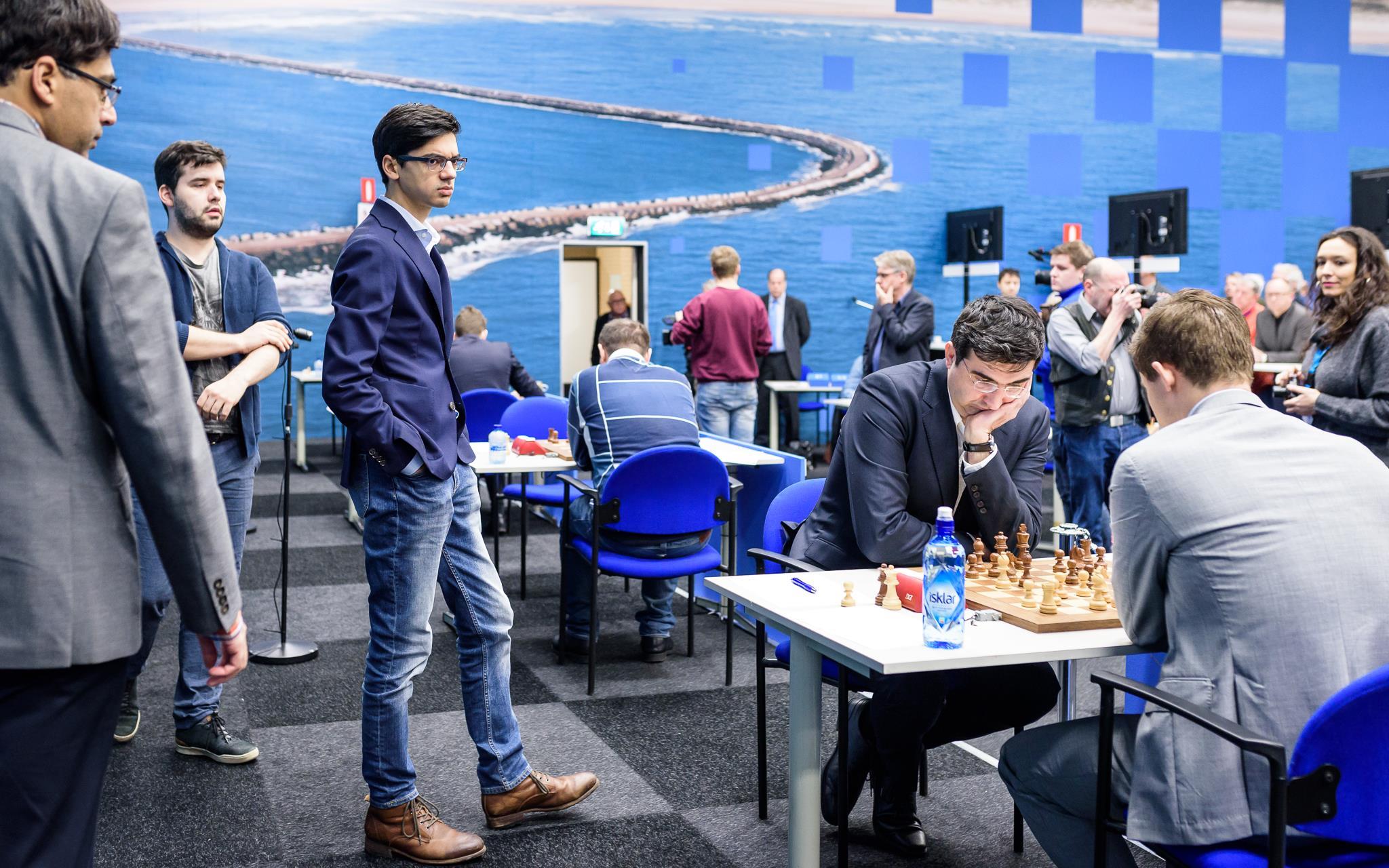 Tata Steel (8): Magnus gana, Caruana atrapa a Firouzja