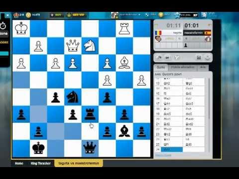 Torneo de ajedrez rápido en Chess cube
