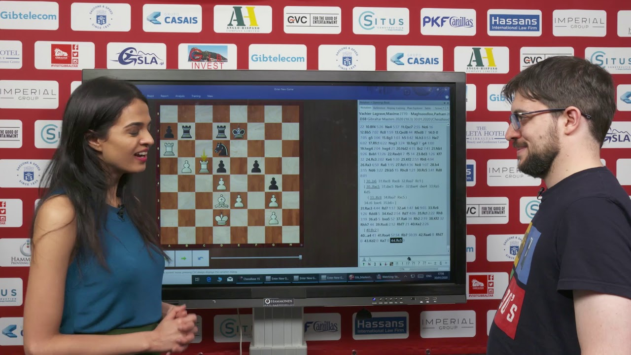 Paravyan y Tan Zhongyi ganan Gibraltar Masters 2020